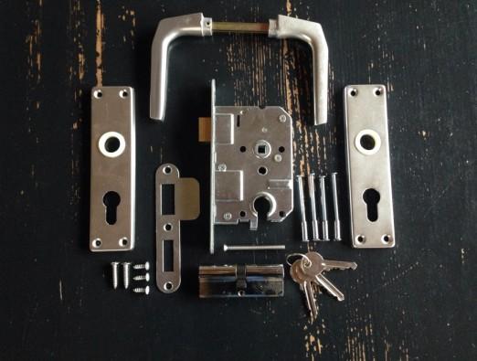Inbouw cilinderslot set